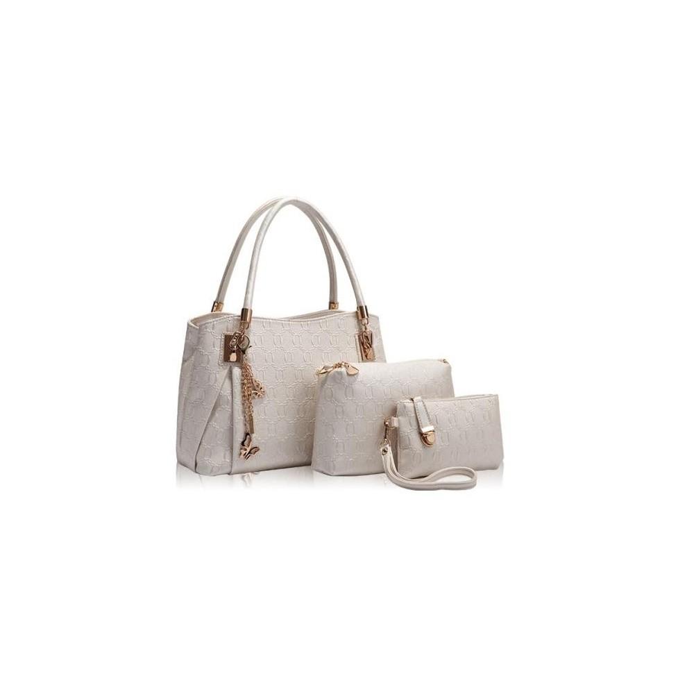 4w1 Torebka Shopper Bag + organizer ECRU