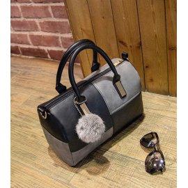 torebka czarno szara