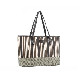 Damska Torebka Shopper Bag A4 Cafe wielokolorowa