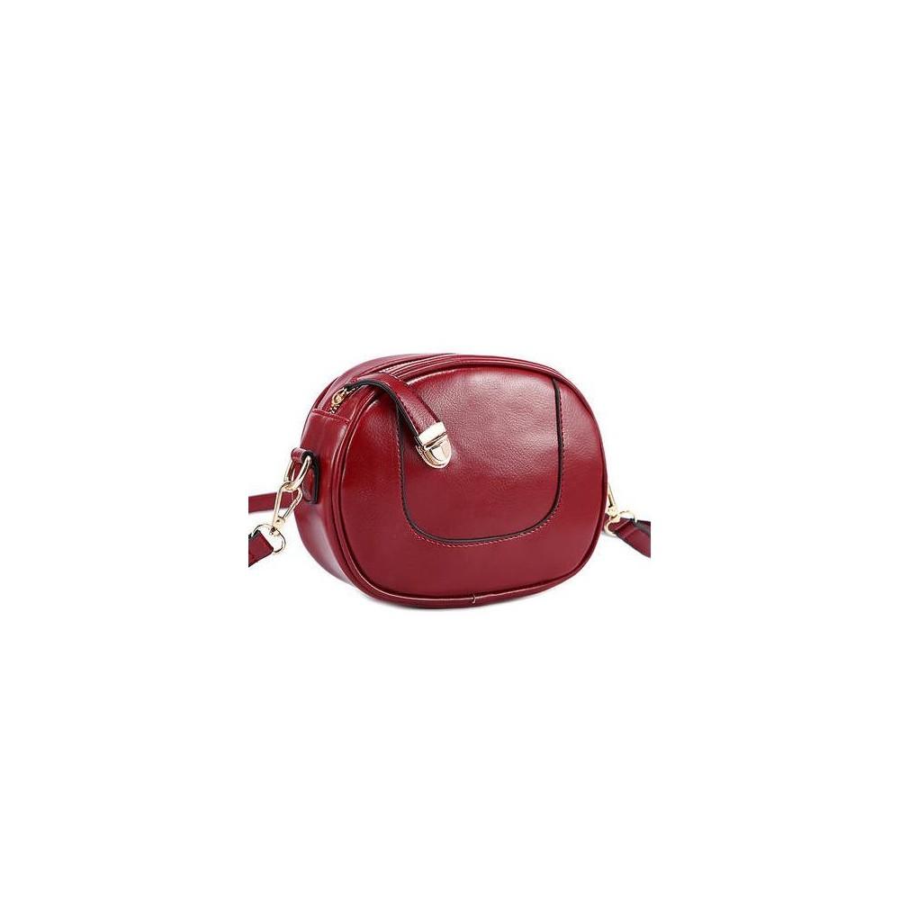 Oryginalna Elegancka Mini Torebka czerwona 246