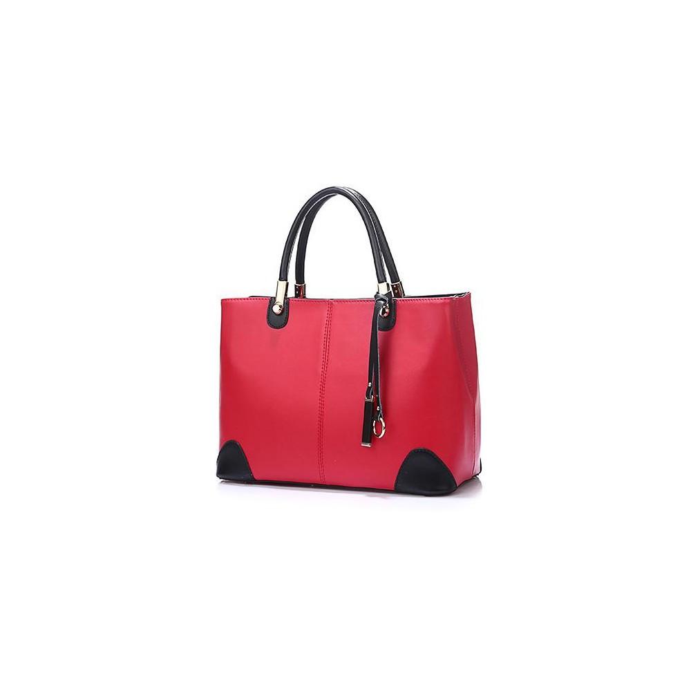 2 KOLOROWA HIT Torebka Shopper Bag czarna 423
