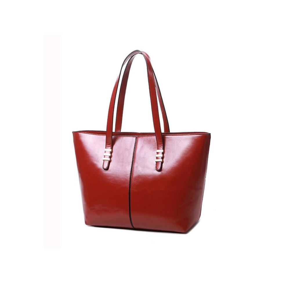 dda4375bff0ad Damska Torebka Shopper Bag A4 Kuferek Czerwona
