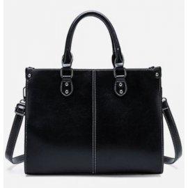 Torebka Aktówka Shopper Bag Teczka Czarna